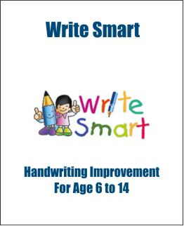 Write Smart for handwriting improvement for kids.